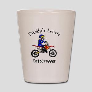 daddyslittleboy Shot Glass