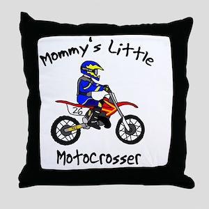mommyslittleboy Throw Pillow
