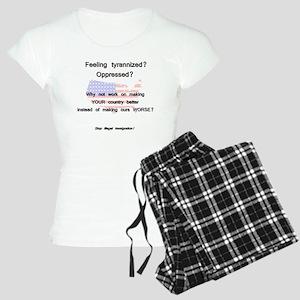 tyrannized Women's Light Pajamas