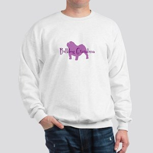 Bulldog Grandma Sweatshirt