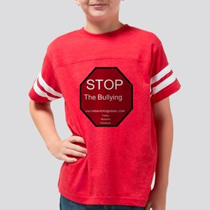 Stop the Bullying Youth Football Shirt