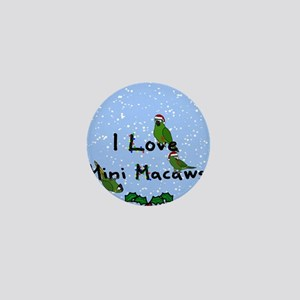 iloveminimacaws_ornament2 Mini Button