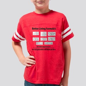 Life Formula-BLACKPRINT Youth Football Shirt