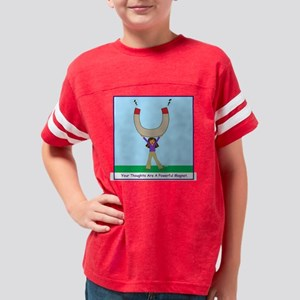 magnetthoughts_shirt Youth Football Shirt