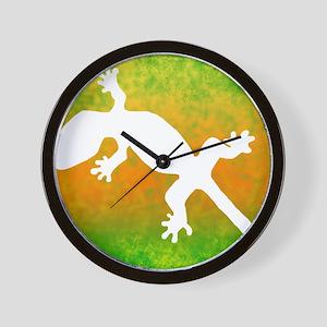 colorful_gecko_mousepad Wall Clock