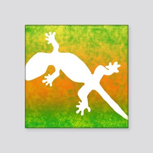 "colorful_gecko_mousepad Square Sticker 3"" x 3"""