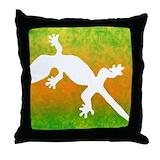 Leopard gecko Cotton Pillows