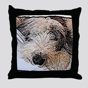 oes_painting1_shirt Throw Pillow