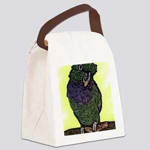 Card Canvas Lunch Bag