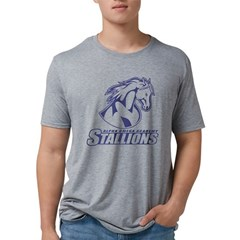 Stallions Men's Tri-Blend T-Shirt