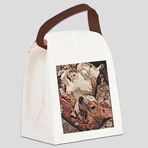 ponback_ornament Canvas Lunch Bag