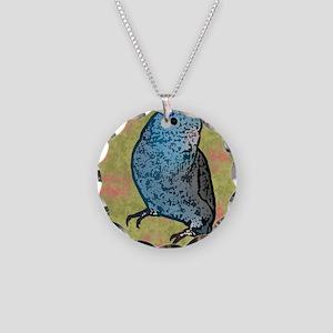parrotletblue_box Necklace Circle Charm