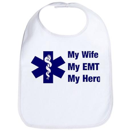My Wife My EMT Bib