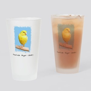 canary_shirt Drinking Glass