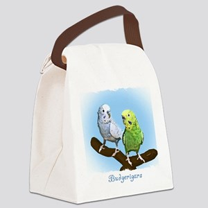 budgies_shirt Canvas Lunch Bag