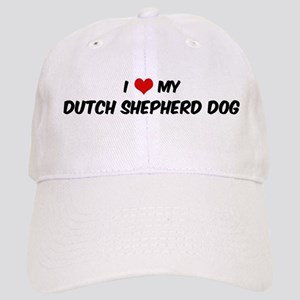 I Love: Dutch Shepherd Dog Cap