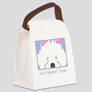 generic_westhighland_black Canvas Lunch Bag