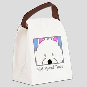 generic_westhighland Canvas Lunch Bag