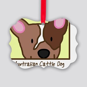 generic_cattledogred Picture Ornament