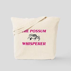 The Possum Whisperer Tote Bag