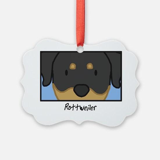 generic_rottweiler Ornament