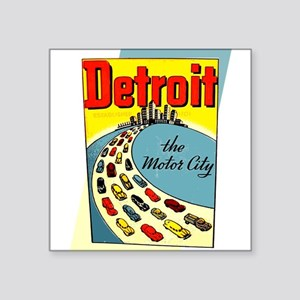Vintage Detroit Sticker