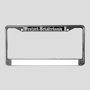 german_bottom License Plate Frame