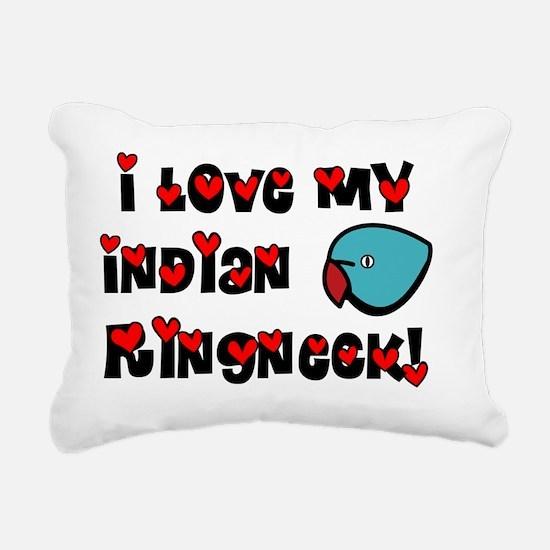 generic_ir_blue Rectangular Canvas Pillow