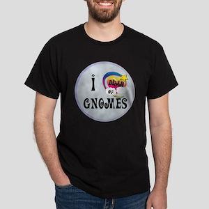 I Dream of Gnomes Dark T-Shirt