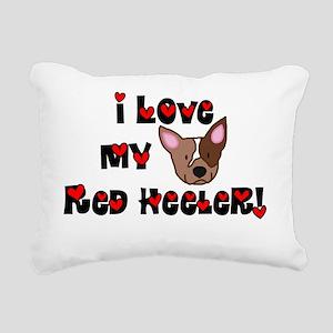generic_redheeler Rectangular Canvas Pillow