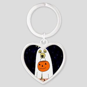trickortreat_ornament Heart Keychain