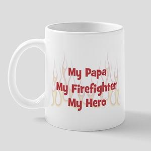My Papa My Firefighter Mug