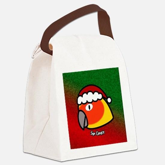 santaanime_sunconure Canvas Lunch Bag