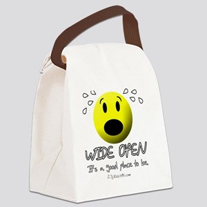 wideopen_cardinal Canvas Lunch Bag