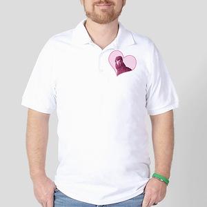 minilove_ornament2 Golf Shirt