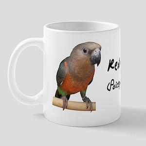 redbelliedparrot Mug