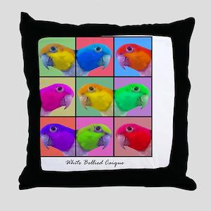 warhol_wbcaique Throw Pillow