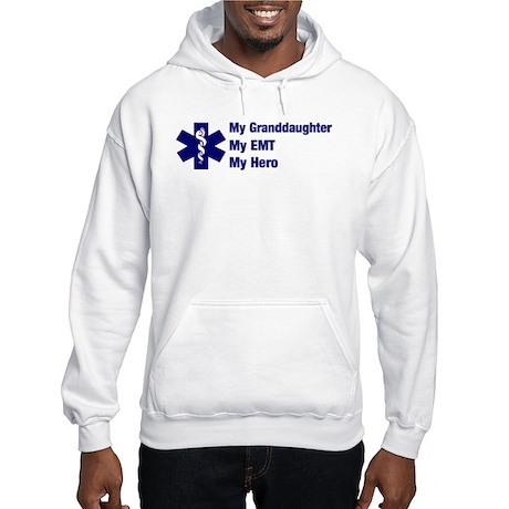 My Granddaughter My EMT Hooded Sweatshirt