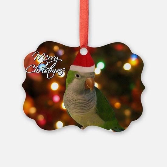 quaker_santa_card Ornament