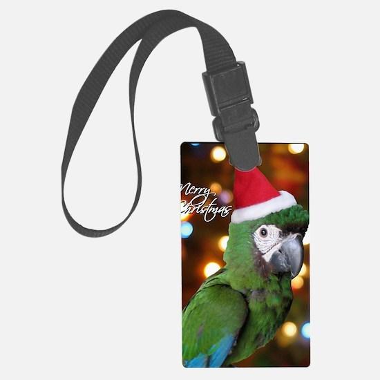 severemacaw_santa_card Luggage Tag