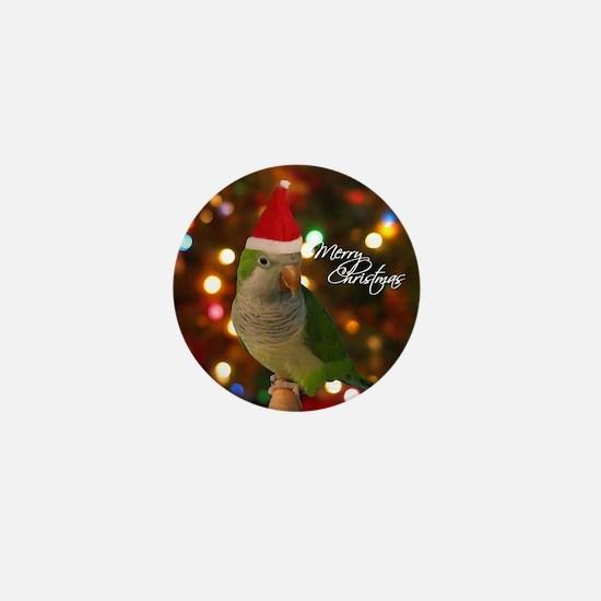 quaker_santa_ornament Mini Button
