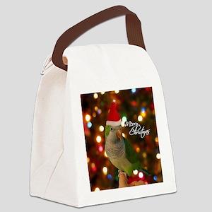 quaker_santa_ornament Canvas Lunch Bag