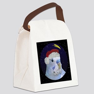 3-christmasnight_bluebudgie Canvas Lunch Bag