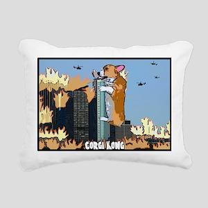 corgikong Rectangular Canvas Pillow