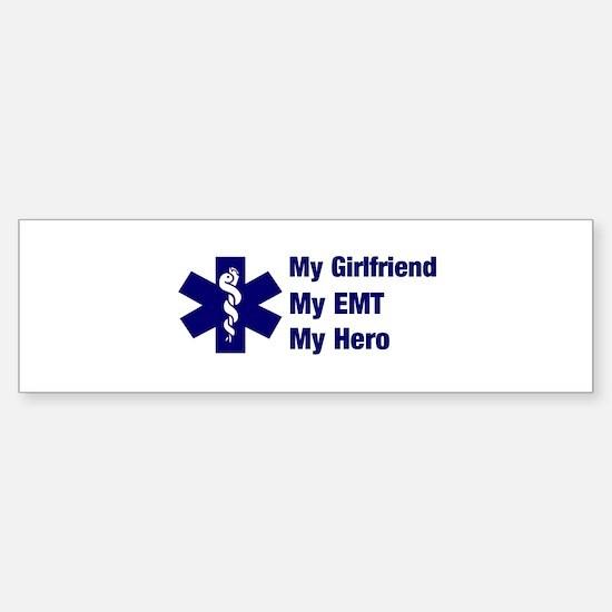My Girlfriend My EMT Bumper Bumper Bumper Sticker