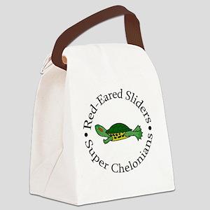 superturtle Canvas Lunch Bag