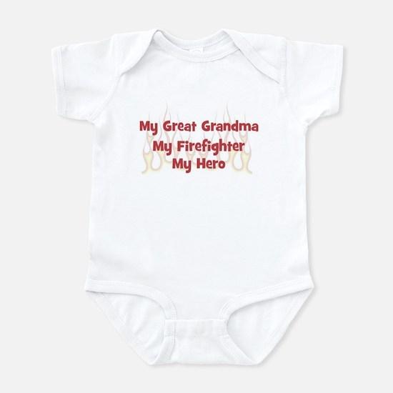 My Great Grandma My Firefight Infant Bodysuit