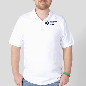 My Ex-Girlfriend My EMT Golf Shirt