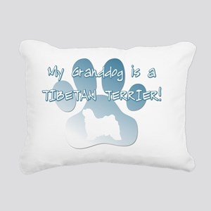 granddog_tibetanterrier Rectangular Canvas Pillow