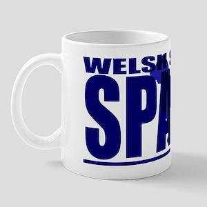 hidden_welshspringer_black Mug